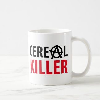 cereal killer icon classic white coffee mug