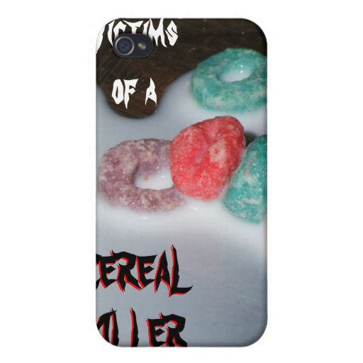 CEREAL KILLER iPhone 4 COVERS