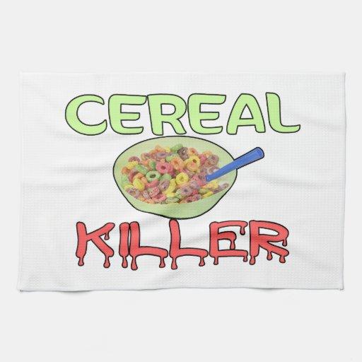 Cereal Killer Kitchen Towel