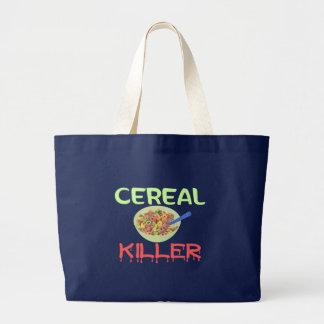 Cereal Killer Large Tote Bag