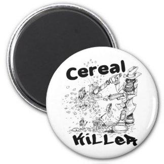 Cereal Killer 2 Inch Round Magnet