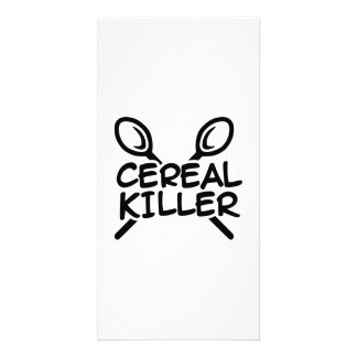 Cereal Killer Photo Card
