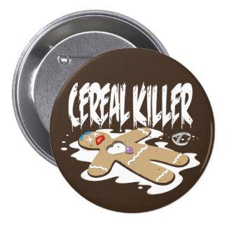 Cereal Killer Pinback Buttons