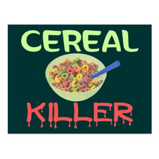 Cereal Killer Postcard