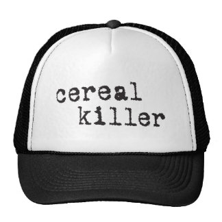 Cereal Killer Shirts Gifts Trucker Hat