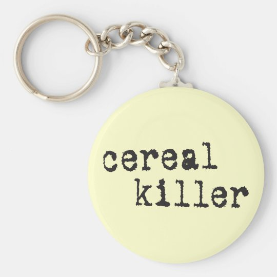 Cereal Killer Shirts & Gifts Keychain
