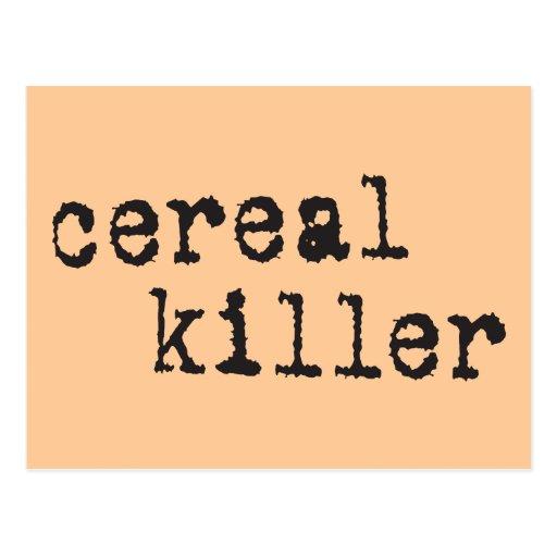 Cereal Killer Shirts & Gifts Postcard