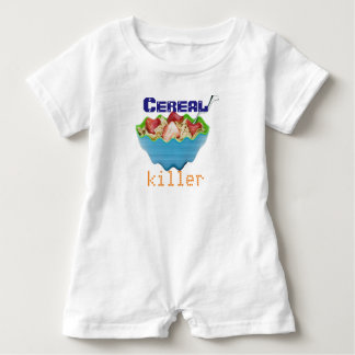 CEREAL KILLERs NEED to stay warm baby Baby Romper