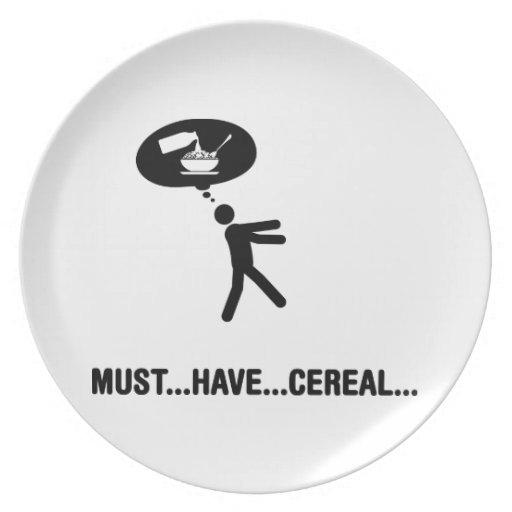 Cereal Lover Dinner Plates