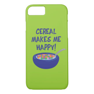 Cereal Makes Me Happy iPhone 7 iPhone 7 Case