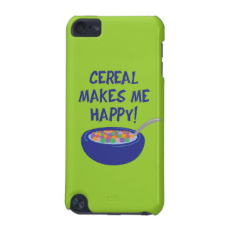 Cereal Makes Me Happy iPod Touch (5th Generation) Case