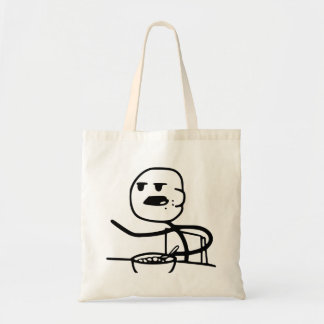 Cereal Meme Guy Budget Tote Bag