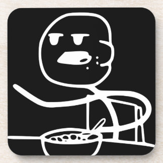 Cereal Meme Guy Coaster