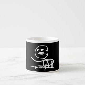Cereal Meme Guy Espresso Cup