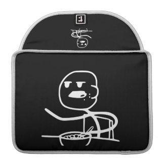 Cereal Meme Guy MacBook Pro Sleeve