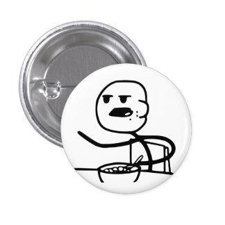 Cereal Meme Guy Pinback Button