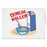 cereal serial killer greeting card