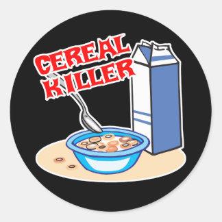 cereal serial killer sticker