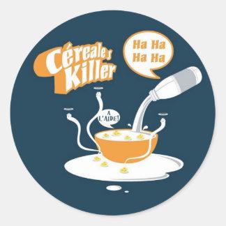 CerealesKiller Etiquetas Redondas