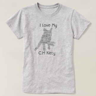 Cerebellar Hypoplasia Cat Awareness T-Shirt