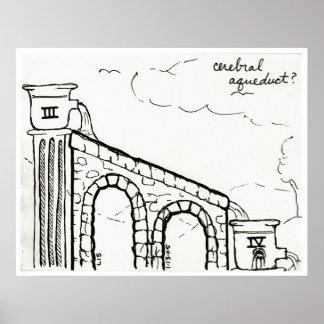 Cerebral Aqueduct print