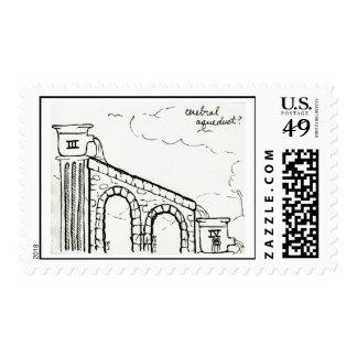 Cerebral Aqueduct stamp