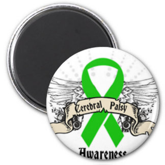 Cerebral Palsy 2 Inch Round Magnet