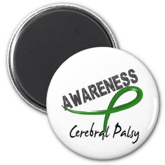 Cerebral Palsy Awareness 3 2 Inch Round Magnet
