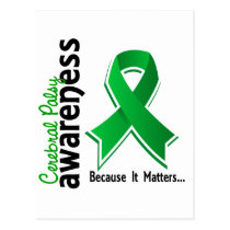 Cerebral Palsy Awareness 5 Postcard