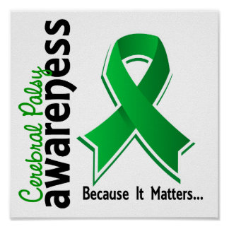 Cerebral Palsy Awareness 5 Poster