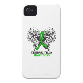 Cerebral Palsy Awareness Butterfly iPhone 4 Cases