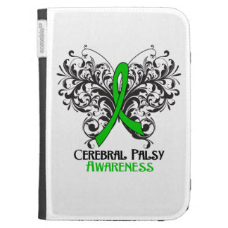 Cerebral Palsy Awareness Butterfly Kindle Cover