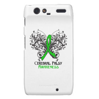 Cerebral Palsy Awareness Butterfly Droid RAZR Covers