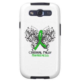 Cerebral Palsy Awareness Butterfly Samsung Galaxy S3 Cases