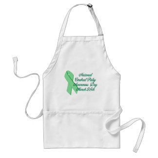 Cerebral Palsy Awareness Day Adult Apron