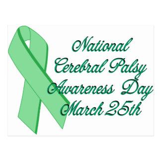 Cerebral Palsy Awareness Day Postcard