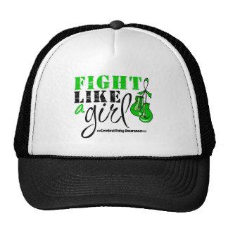 Cerebral Palsy Awareness Fight Like a Girl Trucker Hat