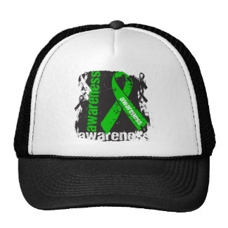 Cerebral Palsy Awareness Grunge Ribbon Trucker Hat