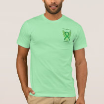 Cerebral Palsy Awareness Ribbon Angel Shirts