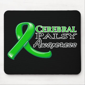 Cerebral Palsy Awareness Ribbon Mousepad