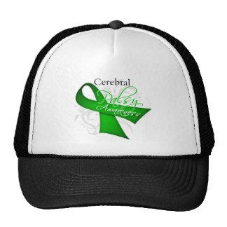 Cerebral Palsy Awareness Ribbon Trucker Hat