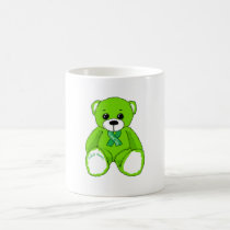 Cerebral Palsy Awareness Teddy Bear Coffee Mug