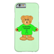 Cerebral Palsy Awareness: Teddy Bear in Sweater Barely There iPhone 6 Case