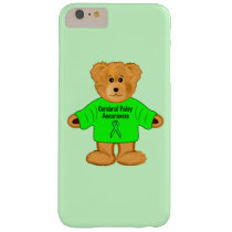 Cerebral Palsy Awareness: Teddy Bear in Sweater Barely There iPhone 6 Plus Case