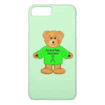 Cerebral Palsy Awareness: Teddy Bear in Sweater iPhone 8 Plus/7 Plus Case