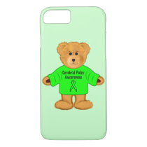 Cerebral Palsy Awareness: Teddy Bear in Sweater iPhone 8/7 Case