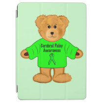 Cerebral Palsy Awareness: Teddy Bear in Sweater iPad Air Cover