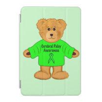 Cerebral Palsy Awareness: Teddy Bear in Sweater iPad Mini Cover