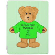 Cerebral Palsy Awareness: Teddy Bear in Sweater iPad Smart Cover
