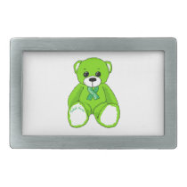 Cerebral Palsy Awareness Teddy Bear Products Belt Buckle